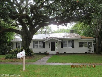 Chickasaw Single Family Home For Sale: 96 Grant Street