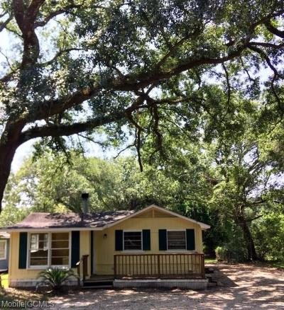Coden Single Family Home For Sale: 4801 Bayou Shores Drive