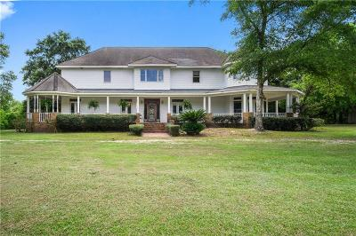 Mobile County Single Family Home For Sale: 3586 Sollie Road