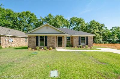 Semmes Single Family Home For Sale: 9622 Magnolia Cove Court