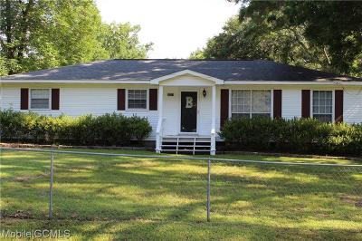 Semmes Single Family Home For Sale: 9273 Agee Road