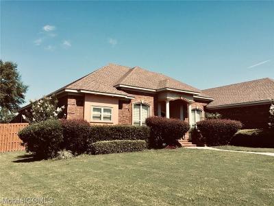 Mobile Single Family Home For Sale: 319 Nolen Trce