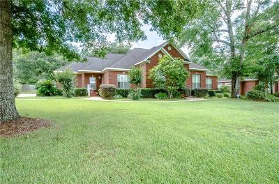 Mobile County Single Family Home For Sale: 2570 Greenbriar Court