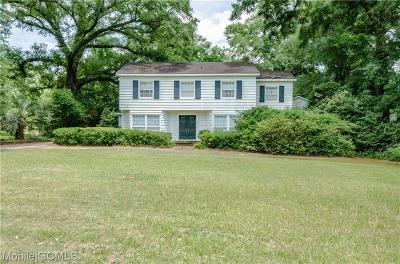 Mobile Single Family Home For Sale: 6 Buerger Road