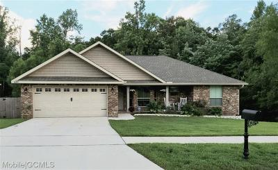 Semmes Single Family Home For Sale: 10395 Blackwell Drive S