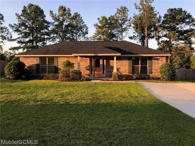 Mobile County Single Family Home For Sale: 9501 Fox Court W