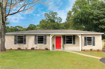 Mobile Single Family Home For Sale: 763 Kasserine Pass