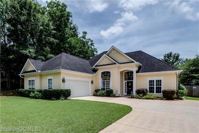 Mobile County Single Family Home For Sale: 8829 Aiken Way