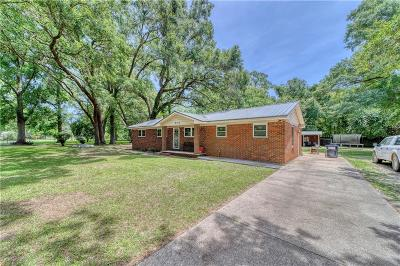 Theodore Single Family Home For Sale: 6113 Mamount Boulevard