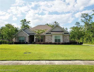 Mobile County Single Family Home For Sale: 3360 Hardwood Drive