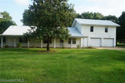 Grand Bay Single Family Home For Sale: 10951 Highway 188