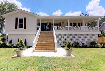 Mobile County Single Family Home For Sale: 3815 Riviere Du Chien Road