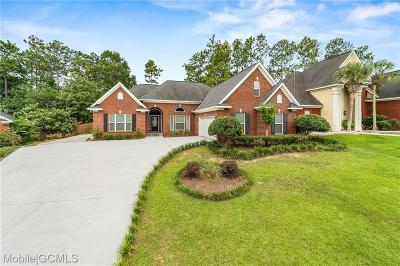 Single Family Home For Sale: 8435 Chapel Hill Court