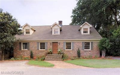 Mobile County Single Family Home For Sale: 4675 Old Shell Road