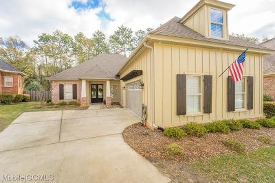 Mobile Single Family Home For Sale: 6434 Clear Pointe Court