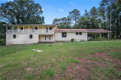 Mobile County Single Family Home For Sale: 5910 Gaynor Road