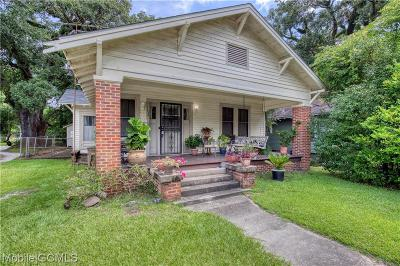 Mobile County Single Family Home For Sale: 1154 Old Shell Road