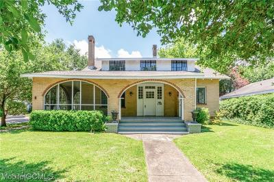 Mobile County Single Family Home For Sale: 158 Catherine Street S