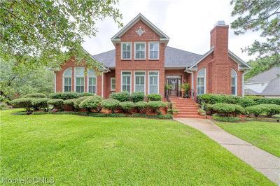 Mobile County Single Family Home For Sale: 704 Providence Estates Drive E