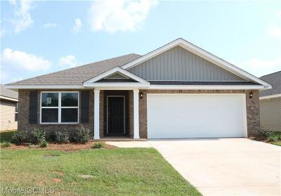 Mobile County Single Family Home For Sale: 10769 Ridgeview Drive