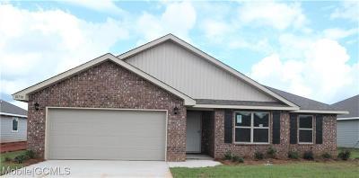 Mobile County Single Family Home For Sale: 10730 Burlington Estates Drive