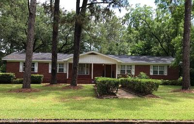 Mobile County Single Family Home For Sale: 5513 Malcolm Drive