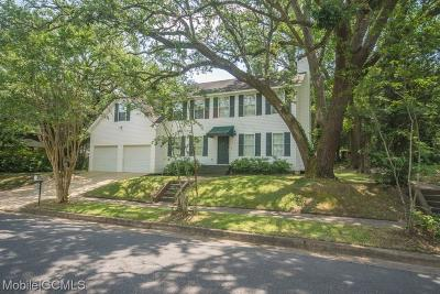 Mobile County Single Family Home For Sale: 305 Southwest Boulevard