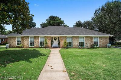 Mobile County Single Family Home For Sale: 6524 Sugar Creek Drive N