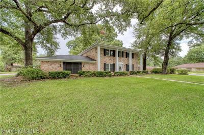 Mobile County Single Family Home For Sale: 821 Bernard Circle