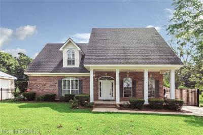 Mobile Single Family Home For Sale: 3973 Scenic Drive