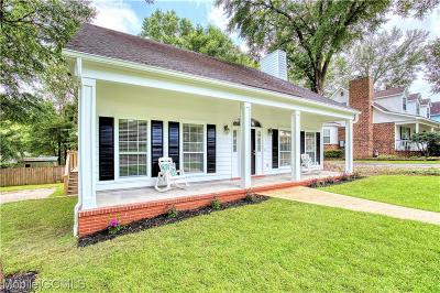 Mobile County Single Family Home For Sale: 6113 Scenic West Drive