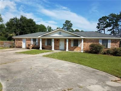Mobile Single Family Home For Sale: 4361 Downey Drive