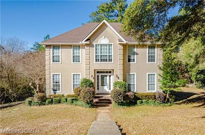 Mobile County Single Family Home For Sale: 3875 Double Branch Drive