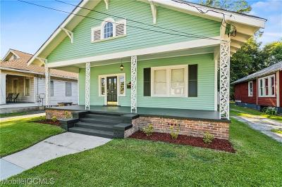 Mobile County Single Family Home For Sale: 14 Kenneth Street