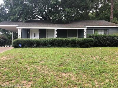 Mobile County Single Family Home For Sale: 3951 Gaylark Road N