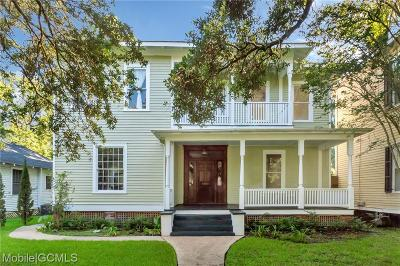 Mobile County Single Family Home For Sale: 1902 Old Government Street