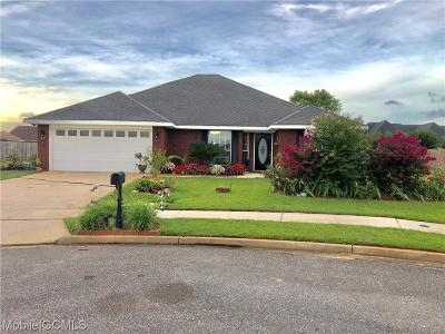 Mobile County Single Family Home For Sale: 10160 Jersey Court S