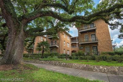 Mobile County Condo/Townhouse For Sale: 1600 Government Street #2D