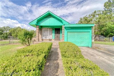 Mobile County Single Family Home For Sale: 1205 Stanton Road