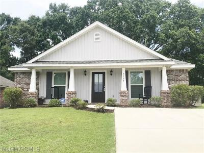 Mobile County Single Family Home For Sale: 2184 Wolf Branch Drive S