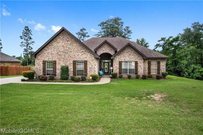 Mobile County Single Family Home For Sale: 3411 Charleston Drive