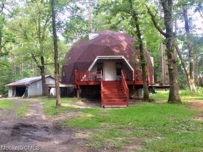 Mobile County Single Family Home For Sale: 14215 Highway 45