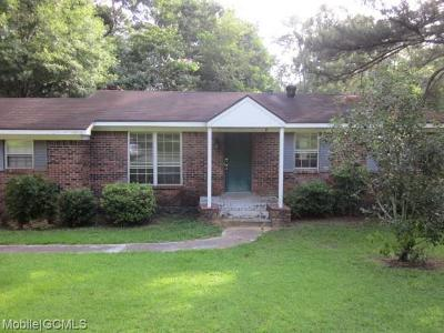 Mobile County Single Family Home For Sale: 6000 Theles Drive