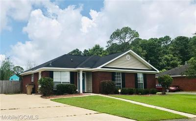 Mobile County Single Family Home For Sale: 5110 Carol Acres Lane W