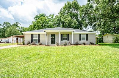 Mobile County Single Family Home For Sale: 5357 Cortez Court