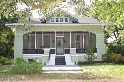 Mobile County Single Family Home For Sale: 7200 Old Pascagoula Road