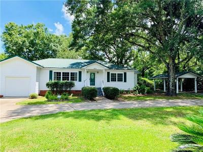 Mobile County Single Family Home For Sale: 5839 Nevius Road
