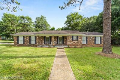 Mobile Single Family Home For Sale: 4325 Lumsden Battery Circle E