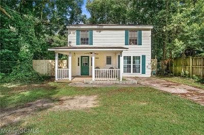 Mobile County Single Family Home For Sale: 162 Westwood Street