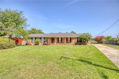Mobile County Single Family Home For Sale: 6352 Belle Bayou Drive